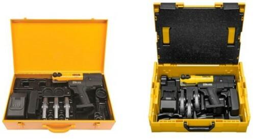 REMS stalen koffer en L-boxx voor perstangen